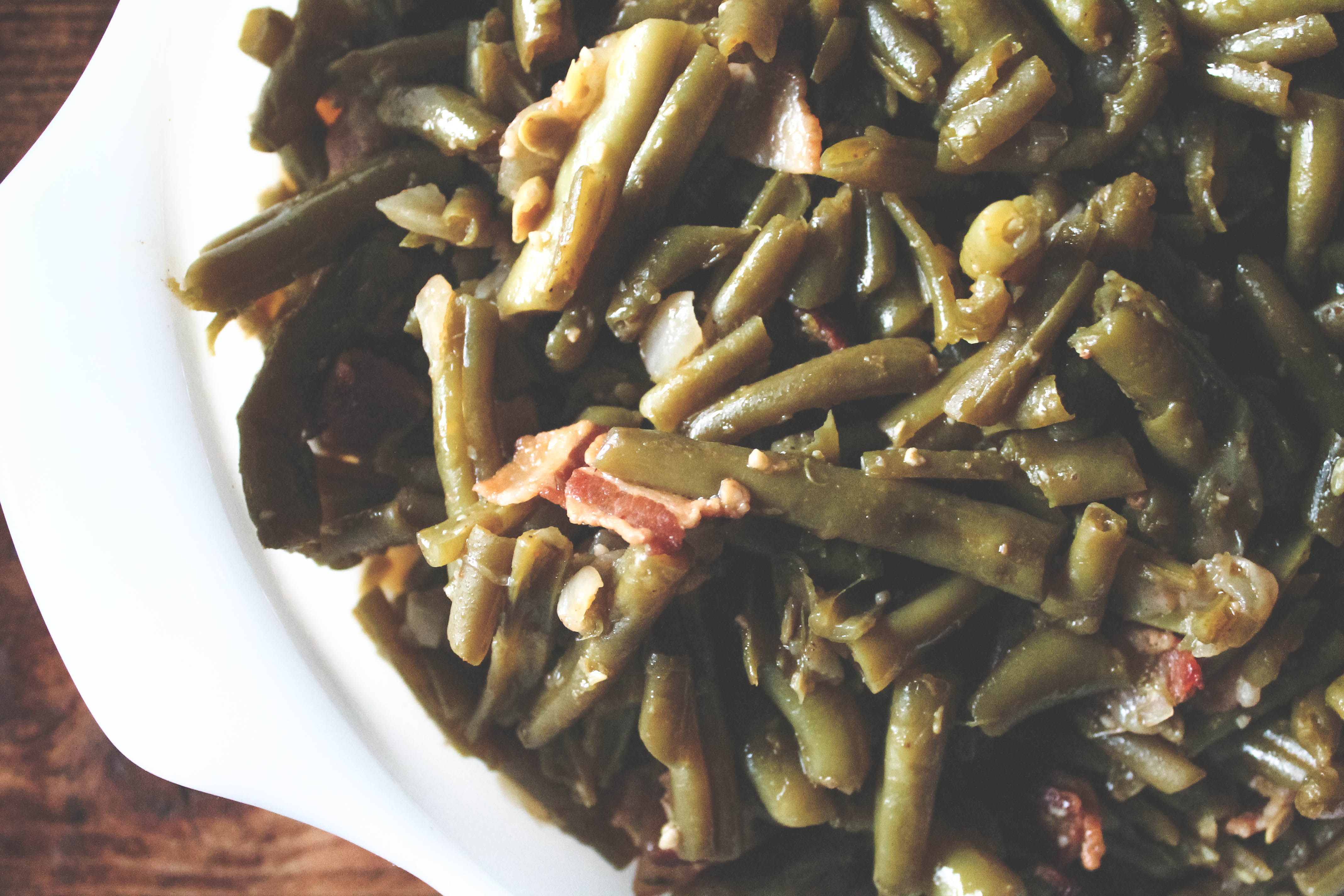green beans, food, side dish