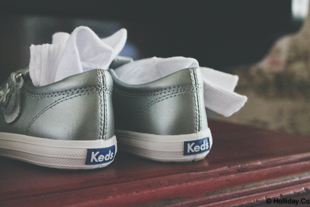 keds, a letter to my daughter & her teacher - kindergarten