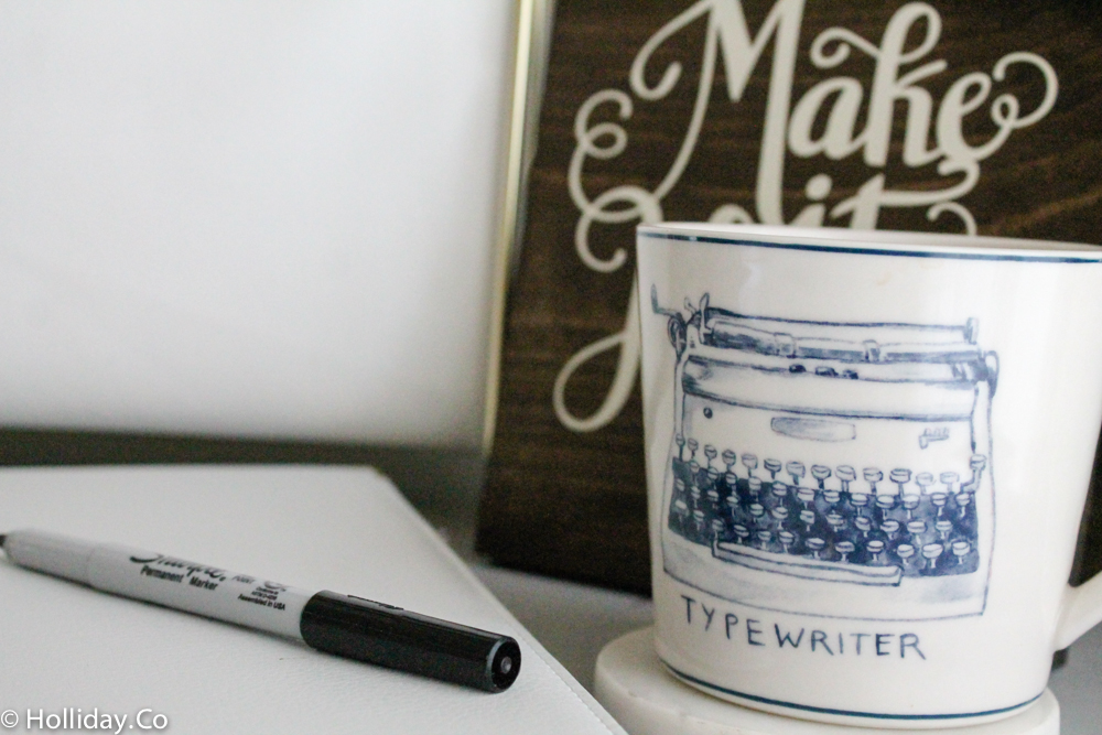 Anthropologie Typewriter Mug, anthropologie mug,
