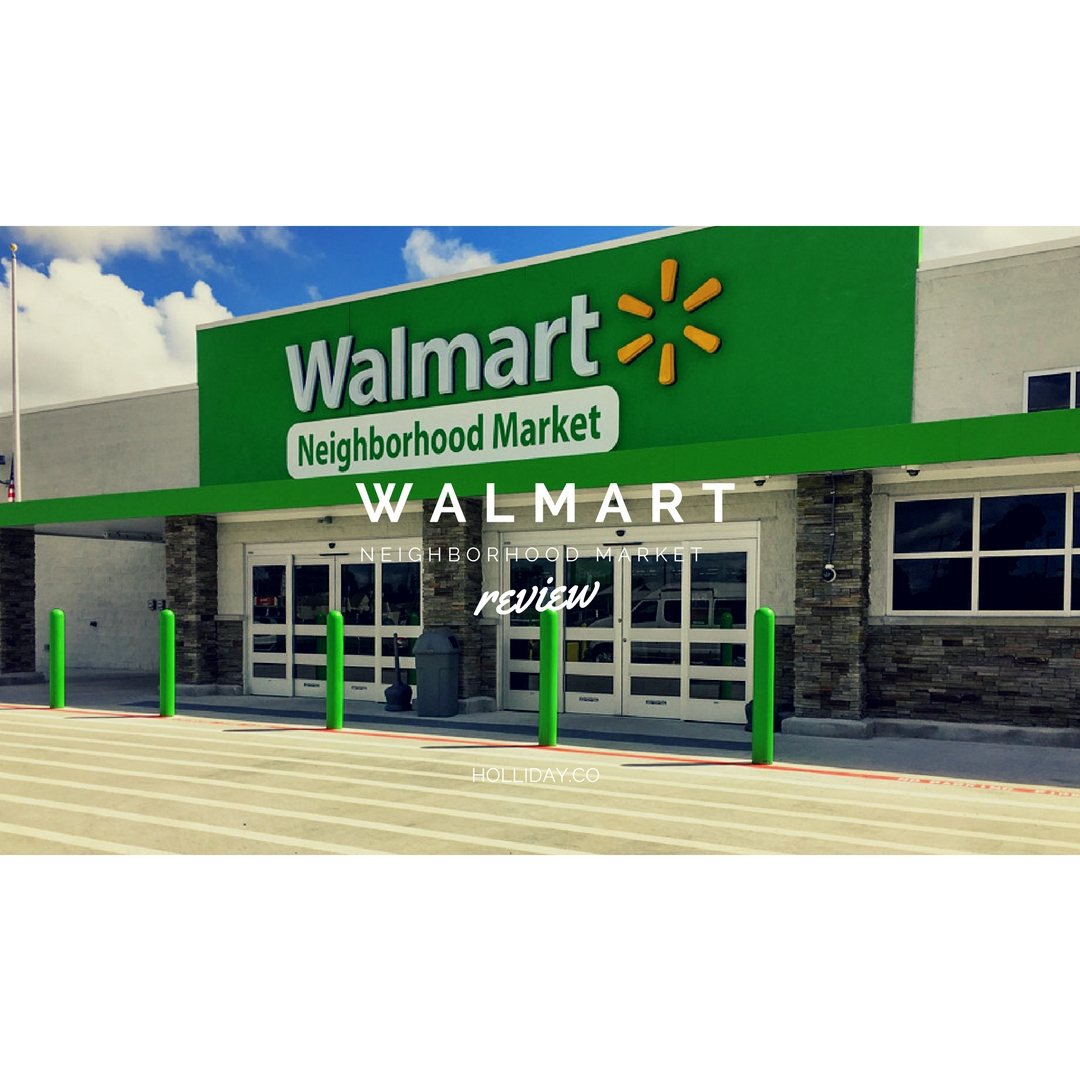 walmart neighborhood market, walmart