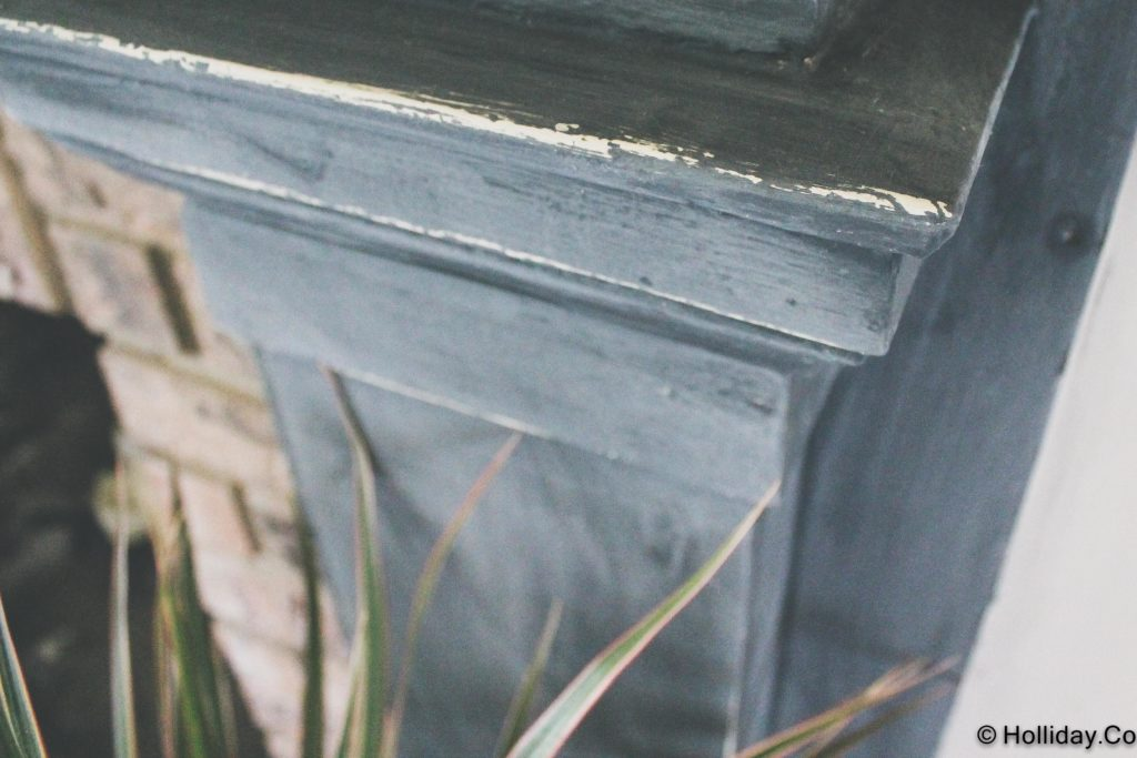 graphite painted fireplace-8, we painted the fireplace, annie sloan chalk paint graphite, annie sloan chalk paint, ascp, painted fireplace, graphite painted fireplace