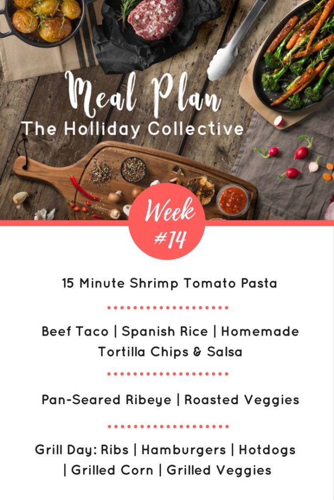 meal plan week -