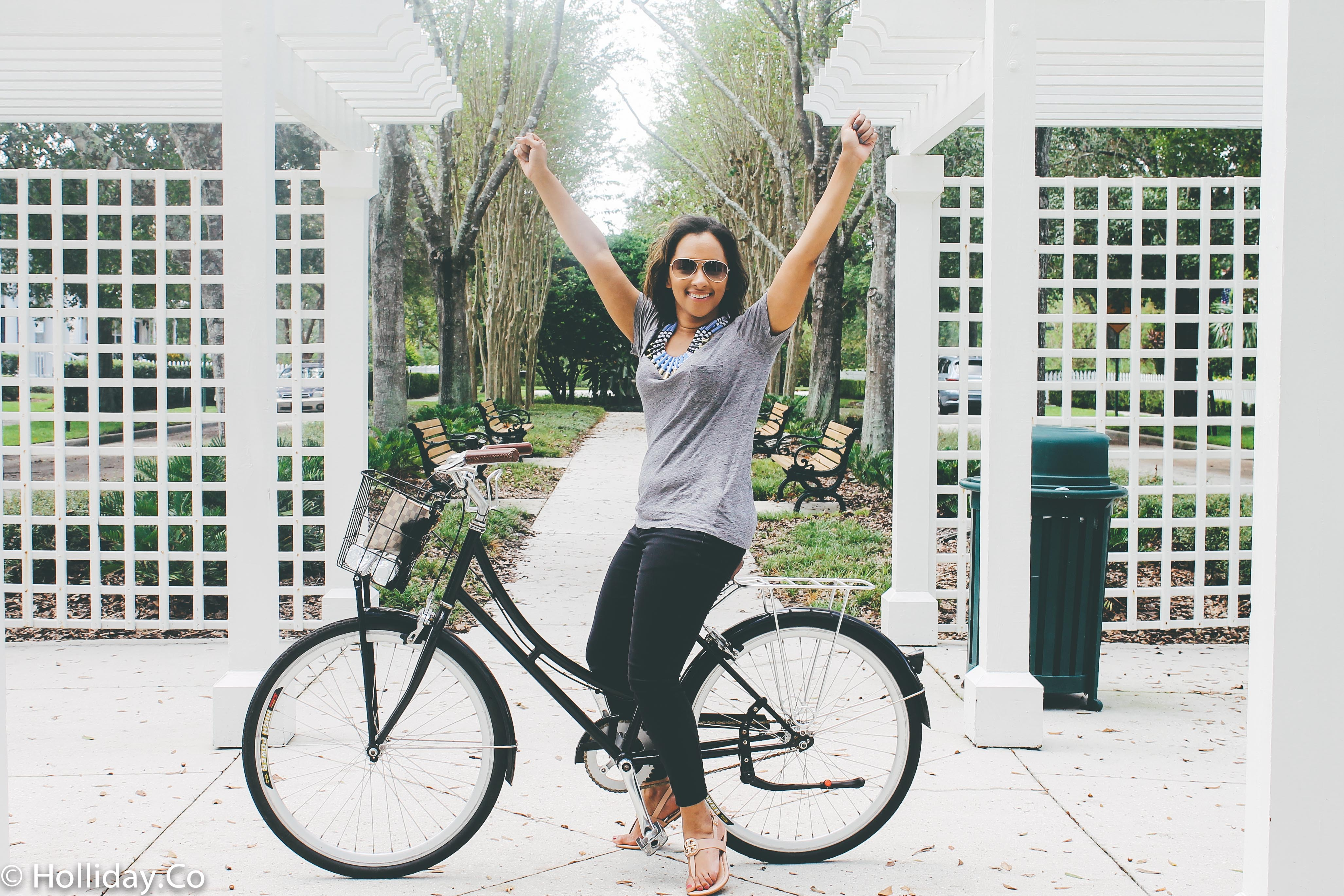 rent a bike in celebration florida, celebration bike rental, celebration fl, things to do in celebration florida, things to do in celebration fl, travel, travel blog, traveling blogger, travel to celebration fl, experience kissimmee